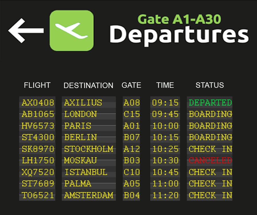 Axilius Departure